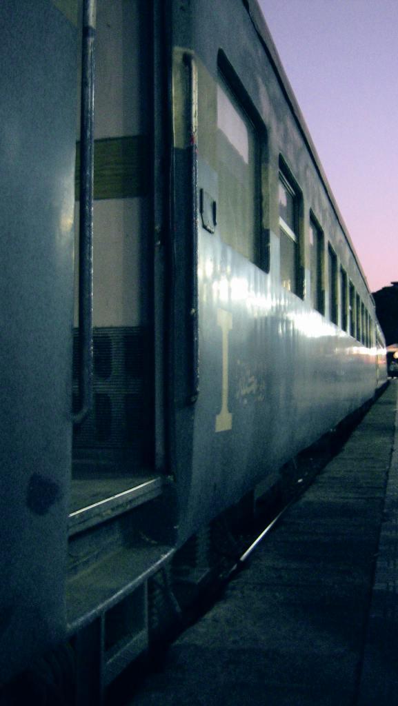 Pociąg - pierwsza klasa.